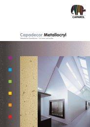 Capadecor Metallocryl - Deutsche Amphibolin Werke -  Caparol
