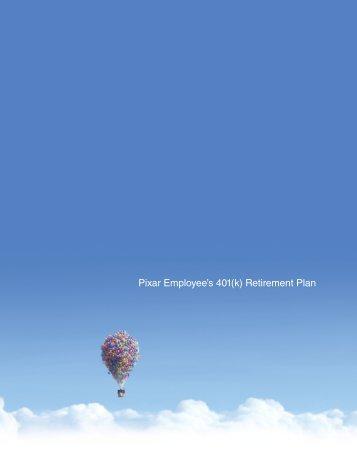 Pixar Employee's 401(k) Retirement Plan
