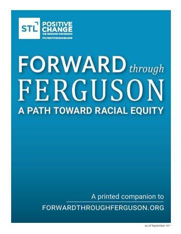 A PATH TOWARD RACIAL EQUITY