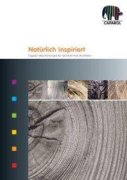 Natürlich inspiriert - Deutsche Amphibolin Werke -  Caparol