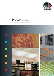 CapaCoustic Structure - Deutsche Amphibolin Werke -  Caparol