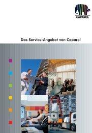Das Service-Angebot von Caparol - Deutsche Amphibolin Werke ...