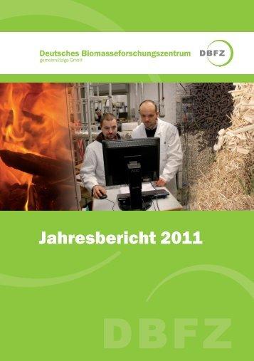 Jahresbericht 2011 - Deutsches Biomasseforschungszentrum