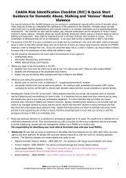 CAADA-risk-assessment-form - Dorsetforyou.com