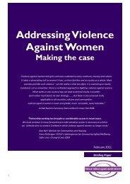 Addressing Violence Against Women