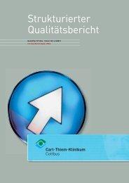 TEIL A - Carl-Thiem-Klinikum Cottbus