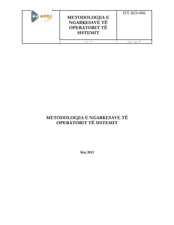 Leter Template shqip - Zyra e Rregullatorit për Energji