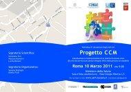 Progetto CCM