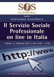 on line in Italia