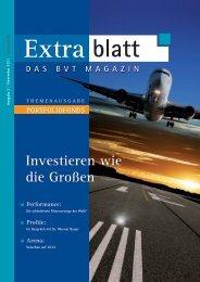 Extrablatt - BVT Unternehmensgruppe