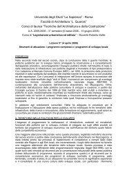 appunti - Roberto Gallia