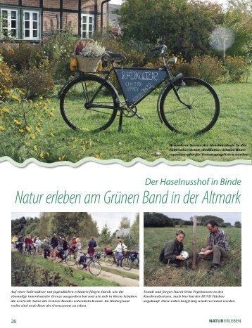 Natur erleben am Grünen Band in der Altmark - BUND für Umwelt ...