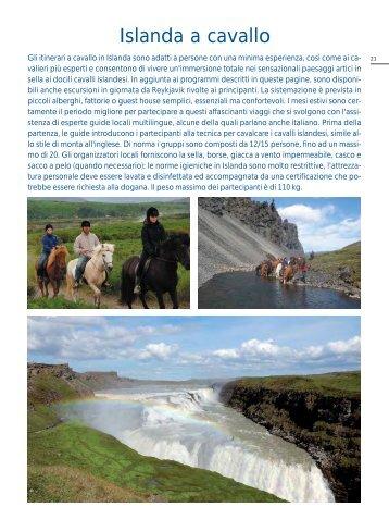 Islanda a cavallo