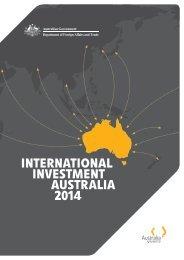 International Investment Australia 2014