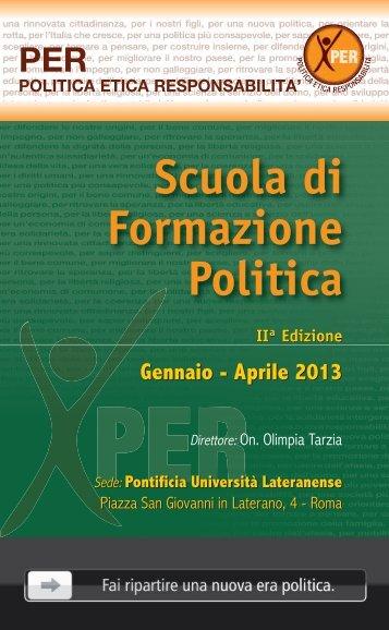 Scuola di Formazione Politica