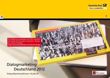 Dialog Marketing Monitor 2012