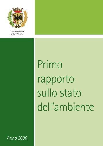 Primo rapporto sullo stato dell'ambiente