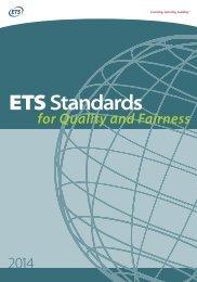 ETS Standards