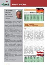 Editorial / Neue Mitglieder Editorial / BVGA News - Bundesverband ...