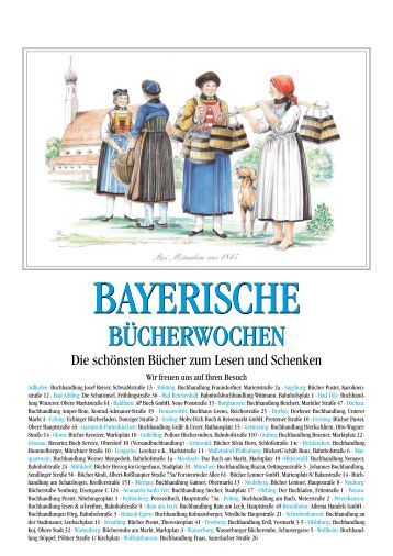 BAYERN ERLESEN - Buchwerbung der Neun