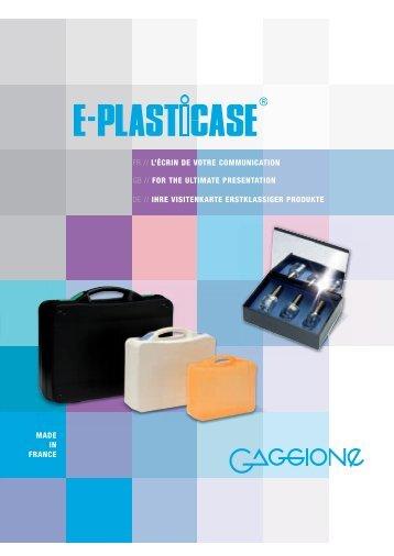 Téléchargez notre catalogue au format PDF - Gaggione