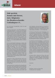 BVGA News - Bundesverband Golfanlagen