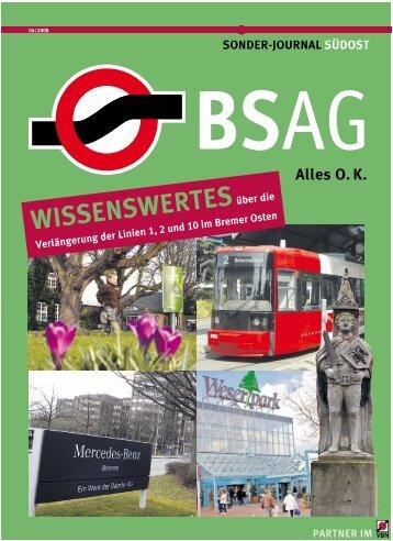 Gut informiert info@bsag.de