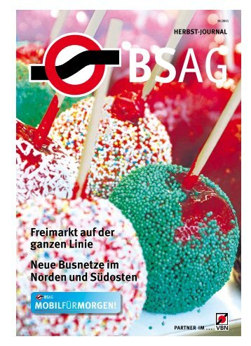 Linienübersicht Bremen-Nord - BSAG
