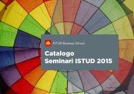 Catalogo Seminari ISTUD 2015