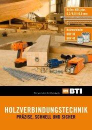 HolzverbindungstecHnik - BTI Befestigungstechnik GmbH & Co. KG