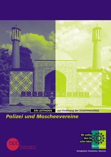 Polizei und Moscheevereine - Bundeszentrale für politische Bildung