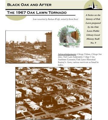 Black Oak and After The 1967 Oak Lawn Tornado