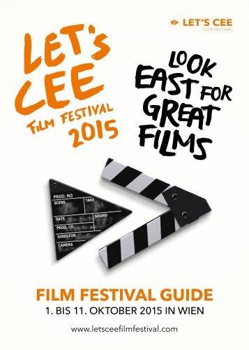 Programmheft LET'S CEE Film Festival 2015