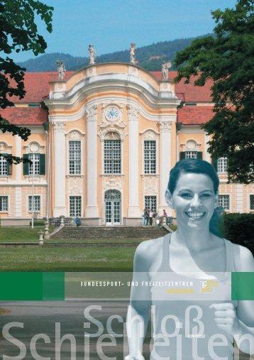 PDF (5 MB) - Bundessport- und Freizeitzentren Austria