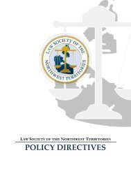 POLICY DIRECTIVES