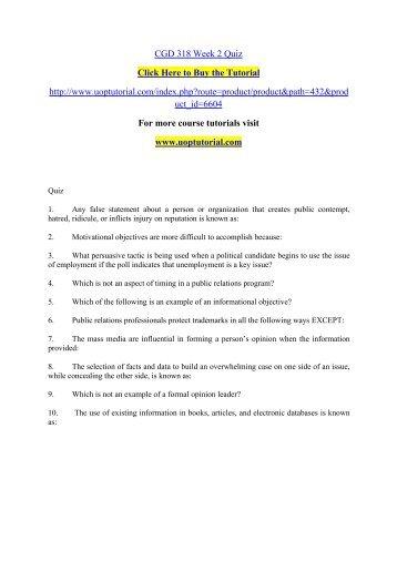 quiz week2 Study 10 co2520 quiz week 2 flashcards from gary a on studyblue.