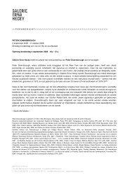 Downsbrough_Press releaseNL - erna hecey