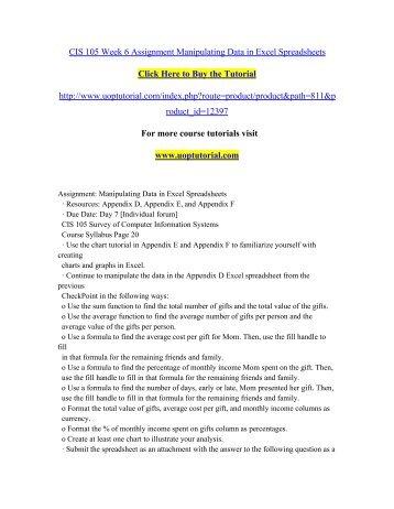 mis535 week 6 homework answers