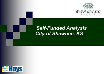 Self-Funded Analysis City of Shawnee KS