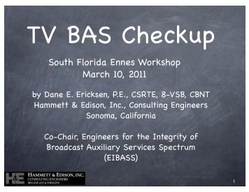 TV BAS Checkup