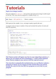 LEX & YACC TUTORIAL - ePaperPress