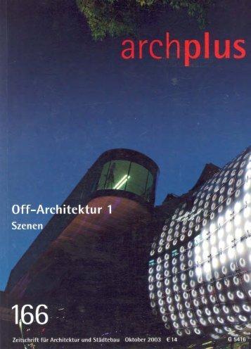 Page 1 Page 2 ipzig Le Arehitekten ohne Architektur Antje Heuer ...