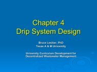 Chapter 4 Drip System Design