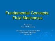 Fundamental Concepts Fluid Mechanics