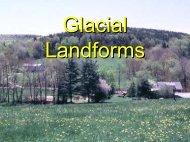 Glacial Landforms