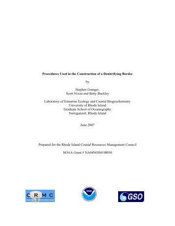 Granger et al 2007 Procedures Construction Denit Border.pdf