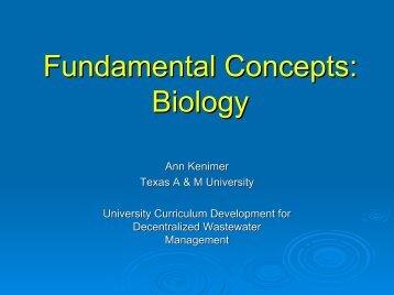 Fundamental Concepts Biology