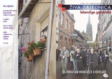Broj (Nr.) 10/2010 - Hrvatski dušobrižnički ured u Njemačkoj