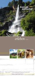 Sommer - Brauhotel Martinerhof