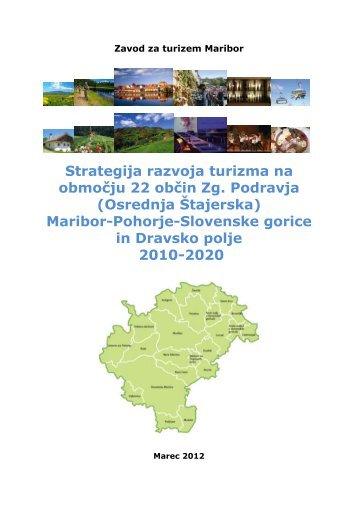Strategija razvoja turizma na območju 22 občin Zg. Podravja ...